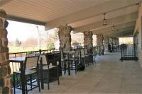 Glenview Park District GOlf Clubhouse Renovation - Patio DIning